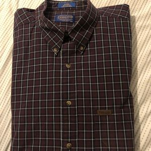 Pendleton Button Up t shirt XL